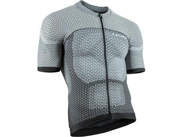 UYN Biking Alpha OW Blouse korte mouwen Heren, white/black